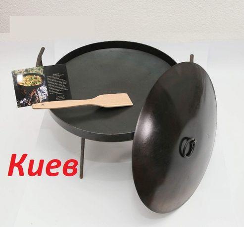 Киев подарок широкий выбор сковорода из диска бороны от30 до 60 см