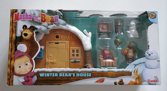 Masza i Niedźwiedź-Zimowy Domek Niedźwiedź, Simba