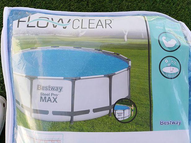 Capa solar para piscinas, marca: BestWay
