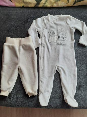 Pajac r.68 i spodnie 62-68 nowe