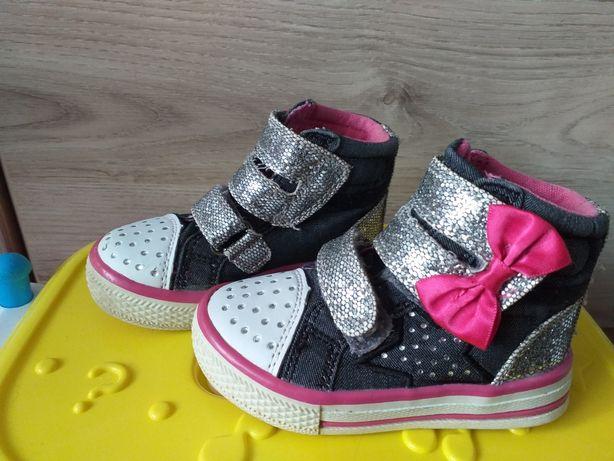 Buty niemowlece za kostke