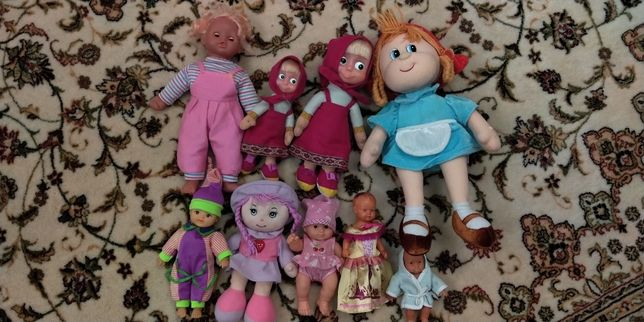 Куклы, куколки, игрушки.