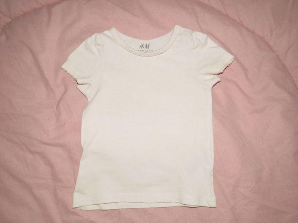 Bluzeczka H&M r.74 jak nowa