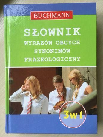 Słownik wyrazów obcych, synonimów, frazeologiczny 3w1