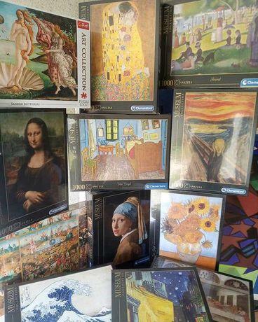PuzzlesPt- Puzzle Arte 1000 peças Clementoni Museum Collection (Novo)