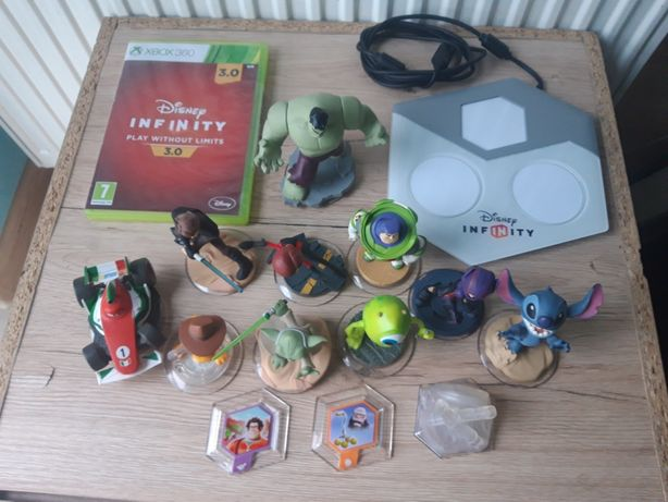 Disney Infinity 3.0 Xbox 360 PL + portal + 13 figurek kolekcja