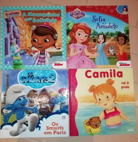 Livros de Histórias Infantis (COMO NOVOS)