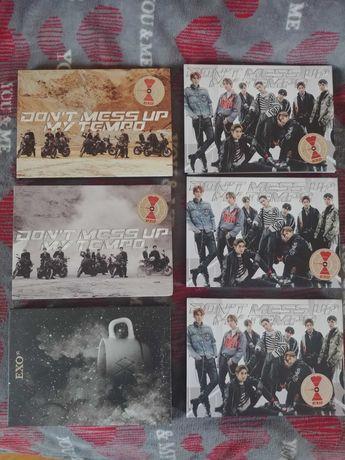 Exo album kpop Tempo, Universe, Obsession