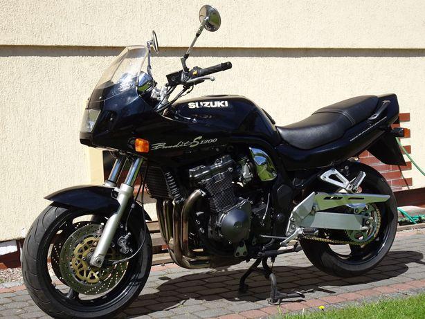 Suzuki GSF 1200 S Bandit 1999' Ideał! Dodatki! Bezwypadkowe! Okazja!