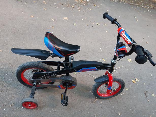 Беговел-велосипед 2в1