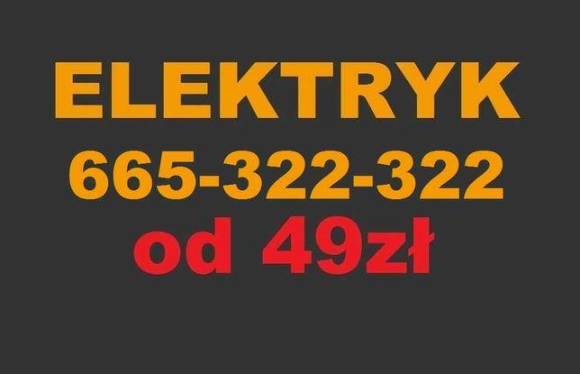 Elektryk Pruszków 24h - Usługi od 49zł - Udzielam Gwarancję Awarie SEP