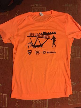 Koszulka techniczna - bieg wokół zalewu nowohuckiego - bieg nowohucki
