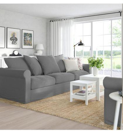 Nowa modułowa sofa 3 osobowa GRÖNLID z Ikea z paczki, 1sz