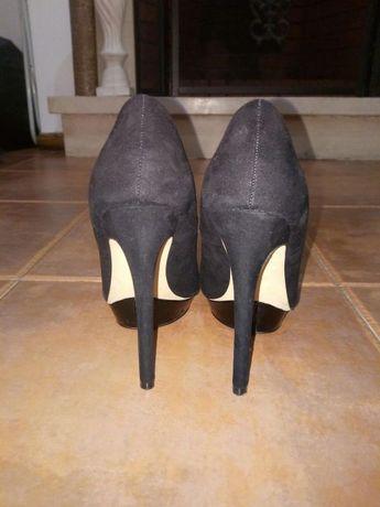 Sapatos preto Stradivarius, 36