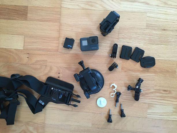 GoPro Hero 5 Black + akcesoria | Tanio!