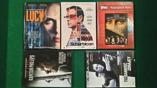Zestaw filmów DVD sensacja ,musical, sf