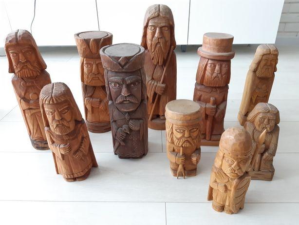Sprzedam rzeźby drewniane rozne wielkosci