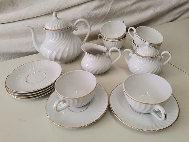 Serviço chá vista alegre impecável