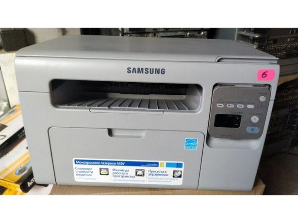 МФУ Samsung SCX-3400 3 в 1 принтер, копир,сканер