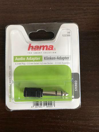 Audio Adapter Kliken-Adapter hama