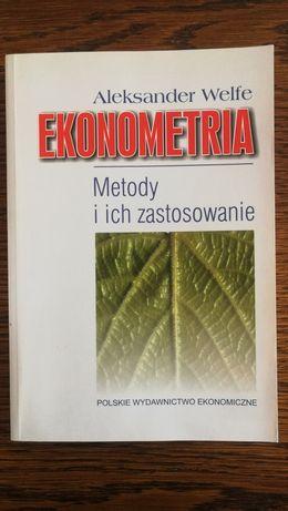 Aleksander Welfe Ekonometria Metody i ich zastosowanie