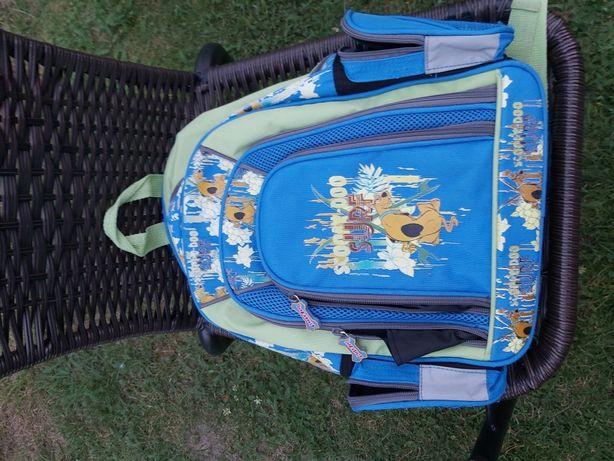 Plecak scooby doo idealny dla małego podróżnika