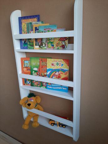 Półka drewniana na książki i zabawki dla dzieci!!