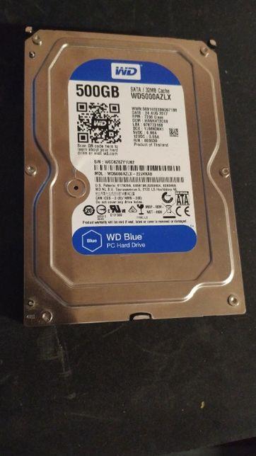 Жесткий диск WD blue 500gb WD5000AZLX