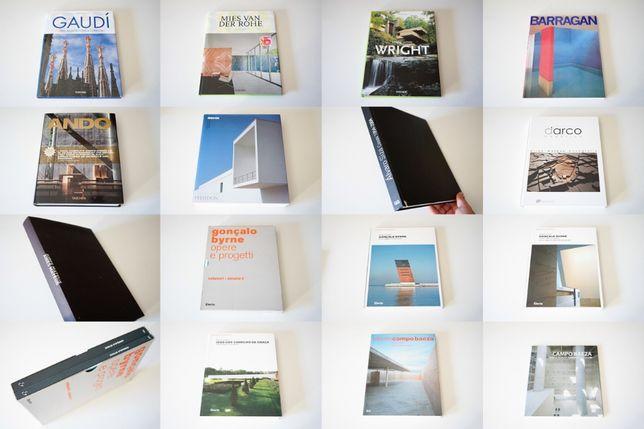Livros de Arquitectura - Siza, Souto, Carrilho, Herzog, El Croquis