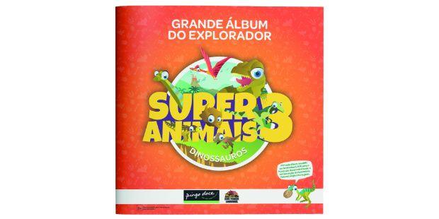 Coleção completa das cartas Super Animais 3