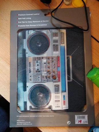 Etui ipad 9,7 radio skóra naturalna retro NOWE