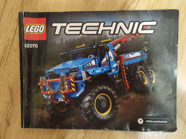 Lego Technic 42070 Holownik instrukcja