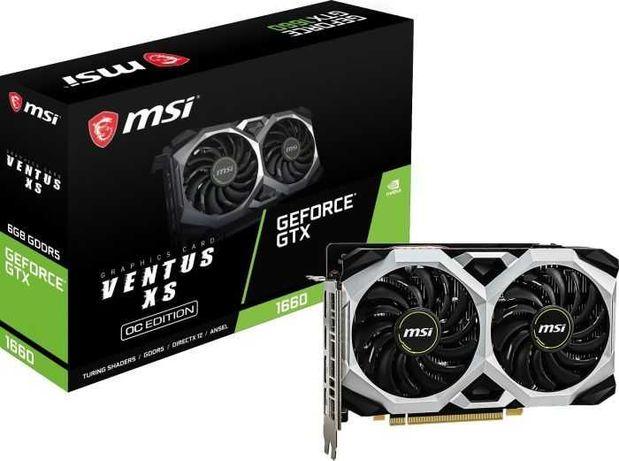 Msi GeForce Gtx 1660 VENTUS XS OC 6GB