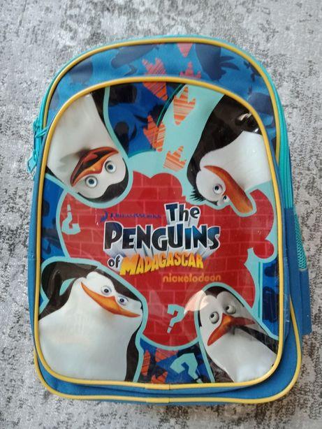 Nowy plecak Pingwiny z Madagaskaru