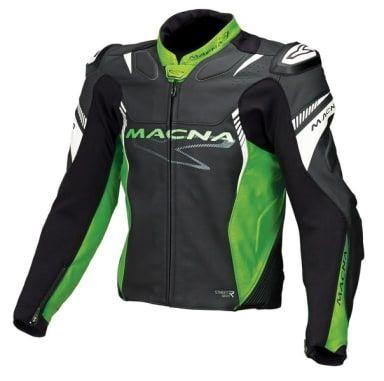 Kurtka MACNA BLAST '52 czarny/zielony