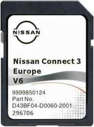 Cartão GPS NISSAN Connect 3 - v6 2021 - J11 - Qashqai Juke Micra