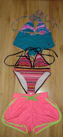 Купальники женские, шорты пляжные