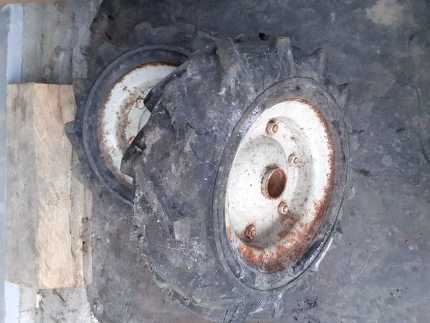 Kółko jodełka mocne pełne glebogryzarka koło