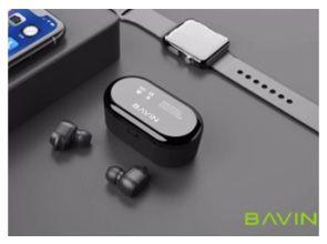 BAVIN BH03 Бездротові Bluetooth 5.0 навушники TWS Гарнитура с кейсом B