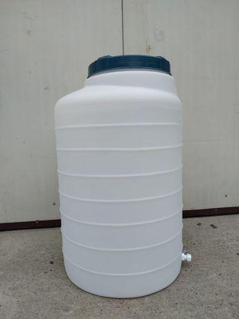 Zbiornik na wodę pitną, niebieski lub biały 200 l - hurt-detal