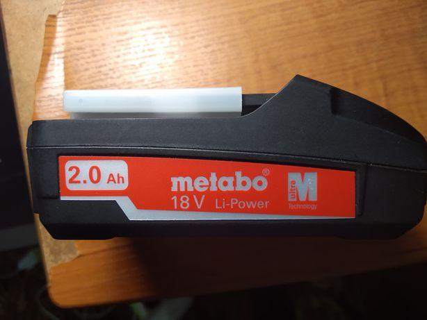 Акамулятор,батарея metabo 18