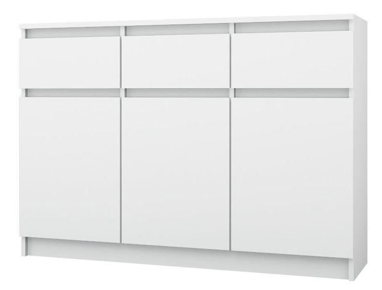 3+3 120 / TANIA pojemna KOMODA szafka /120x84,6x33 / 3 kolory / Kurier