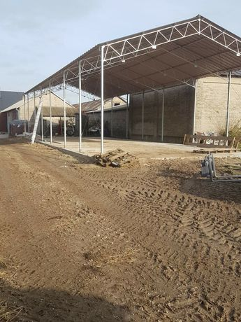 NOWa Konstrukcja stalowa ocynkowana 8x23 hala wiata magazyn garaż