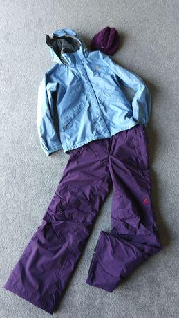 Kurtka narciarska North Face spodnie narciarskie Nike ACG
