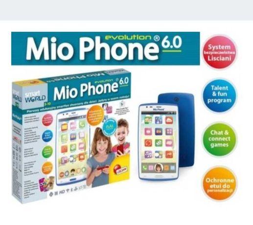 Mio Phone Edukacyjny Smartfon dla dzieci niebieski.