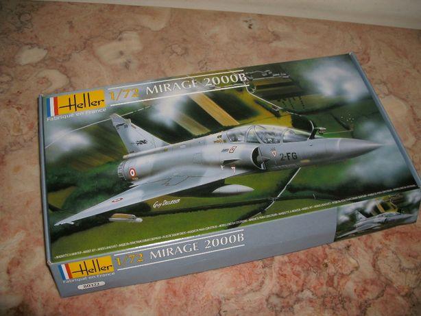 Kit Modelismo avião Mirage 2000B da Heller à escala 1/72