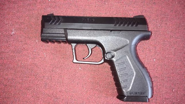 Wiatrówka-pistolet Umarex XBG CO2 wraz z zestawem