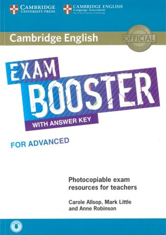 Cambridge English Exam Booster for Advanced with Answer Key +Audio