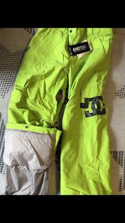 Cноубордические лыжные подростковые зимние штаны DC Burton Quksilver