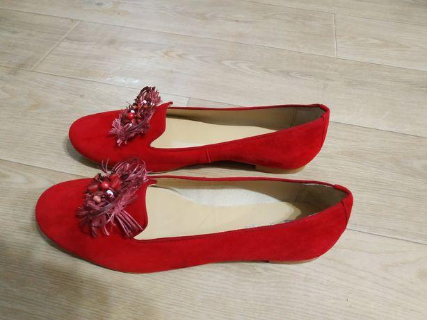Замшеві туфлі 43